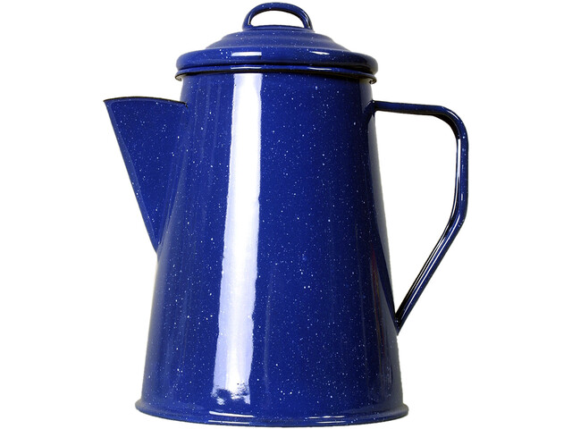 Basic Nature Enamel Coffee Pot 1000ml, blue